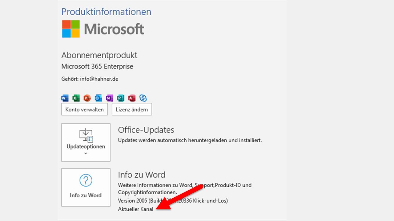 Team Hahner - Microsoft 365: Warum fehlen bei mir Funktionen?