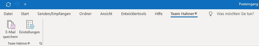 Team Hahner - Softwareentwicklung - Outlook-Add-In