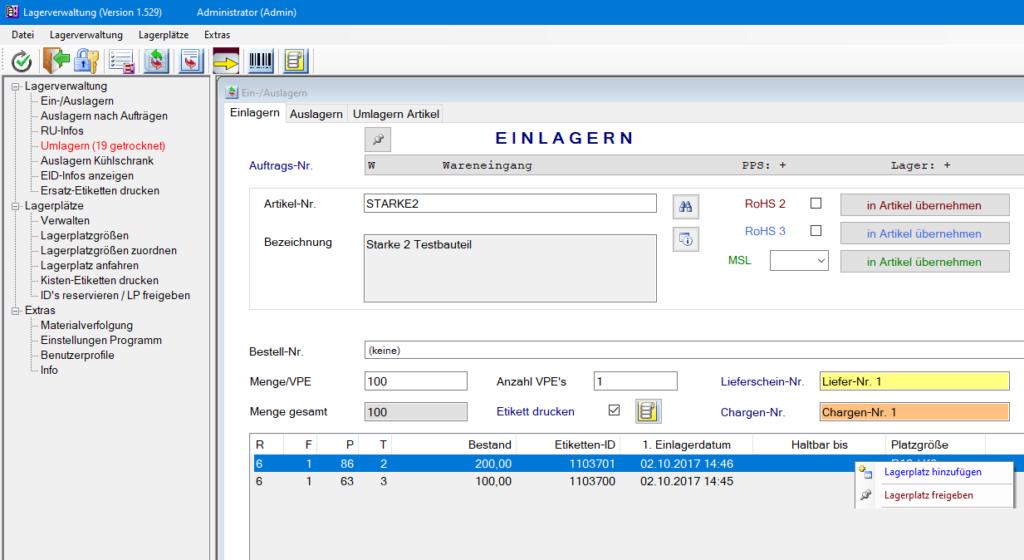 Team Hahner - Softwareentwicklung - Lagerverwaltung