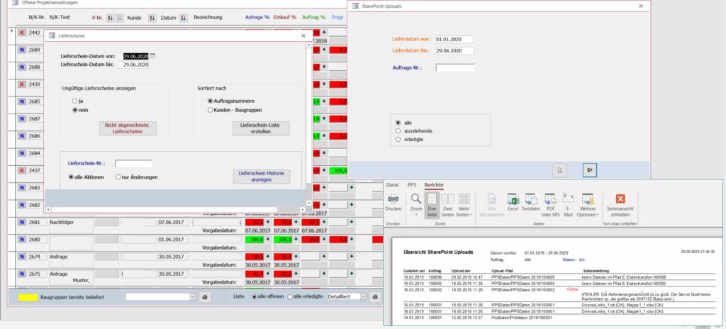Team Hahner - Softwareentwicklung - ERP-Lieferscheine