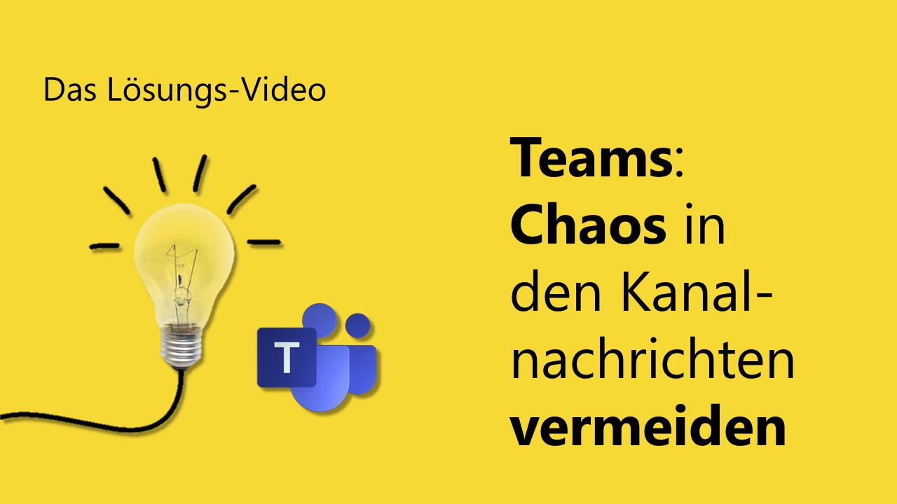 Team Hahner - Das Lösungs-Video #122