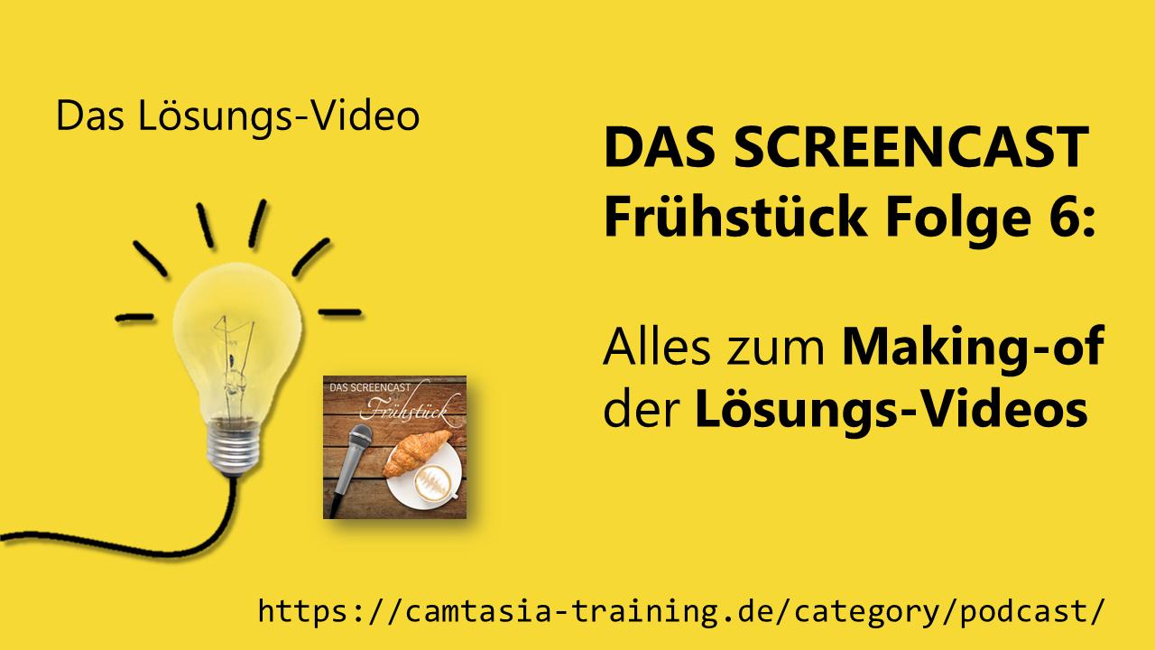 Team Hahner - DAS SCREENCAST-Frühstück - Folge 6